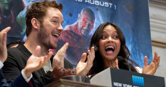 Chris Pratt Needs A Thesaurus To Describe 'Guardians Of The Galaxy Vol. 2'