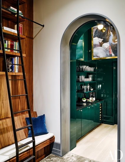 Naomi Watts and Liev Schreiber's New York home featured in Architectural Digest