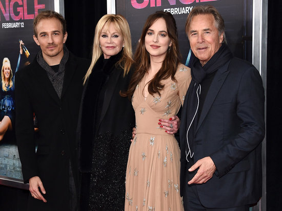 Melanie Griffith and Don Johnson Support Daughter Dakota Johnson at How to Be Single Premiere in NYC
