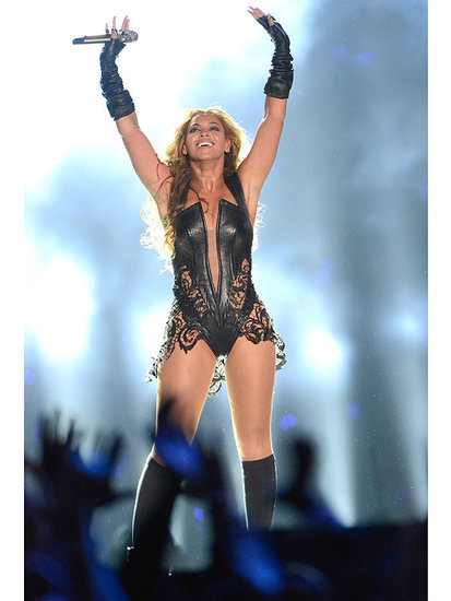 Get Psyched For Beyoncé's Halftime Show By Revisiting Her Killer Outfit From Super Bowl 47