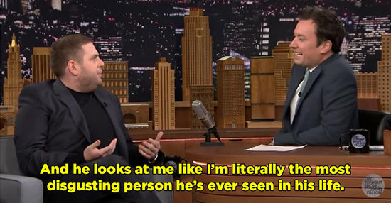"Jonah Hill Was So Moved By Adele's ""Hello"" That He Twisted J.J. Abrams' Nipples"