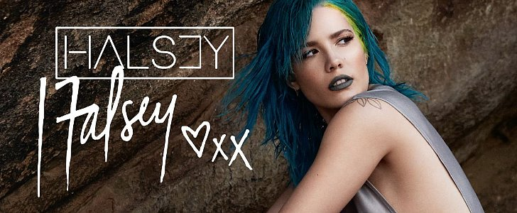 MAC's Edgy New Collaboration Involves Halsey and a Gray Lipstick