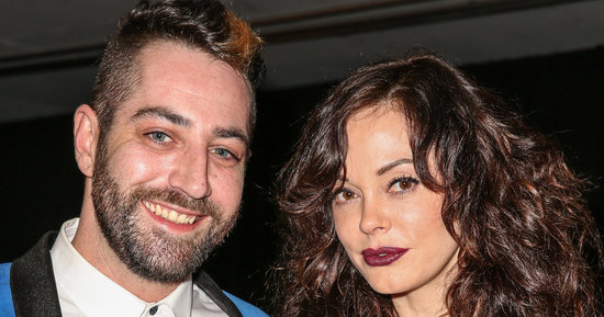 Rose McGowan Files For Divorce From Husband Davey Detail