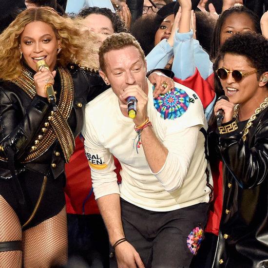 Beyonce, Coldplay und Bruno Mars Super Bowl Halftime Show