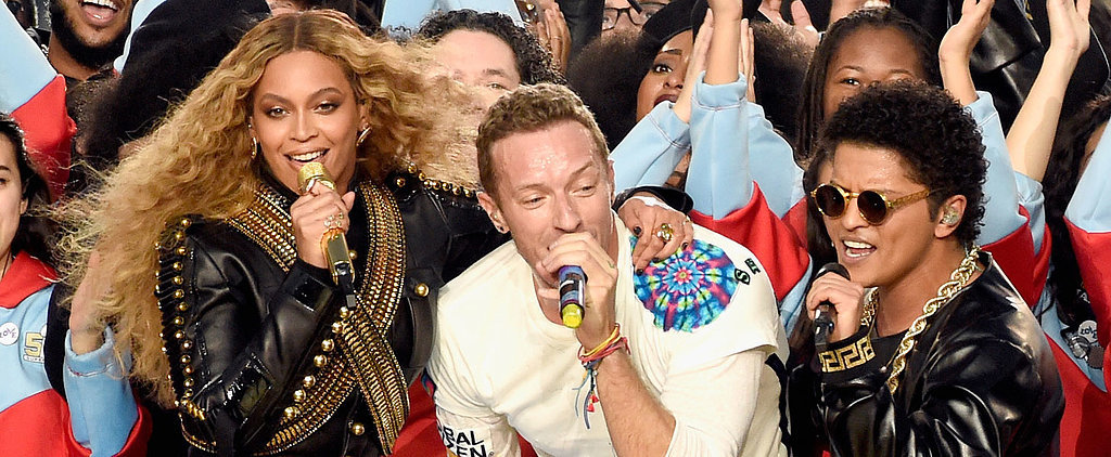 Watch Coldplay, Beyoncé, and Bruno Mars Unite For the Super Bowl Performance of Your Dreams