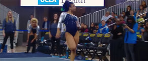 "UCLA Gymnast Has the Crowd Chanting ""10"" After Slaying Floor Routine"