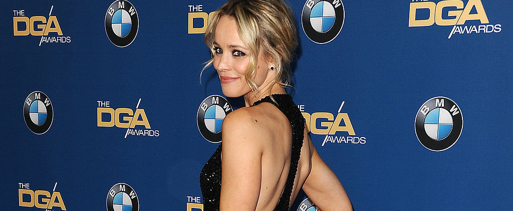 You'll Twirl With Delight Over Rachel McAdams's Sequined Chiffon Gown