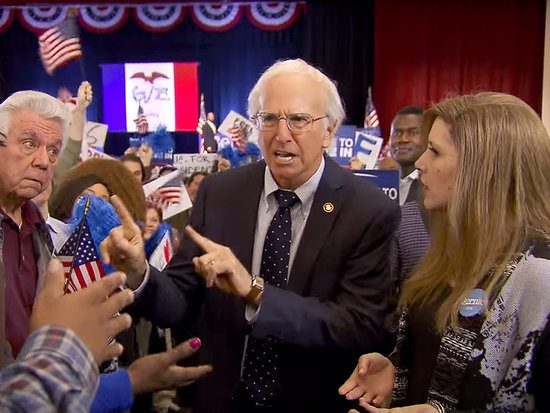 SNL Imagines What Would Happen If Bernie Sanders Was Really Larry David