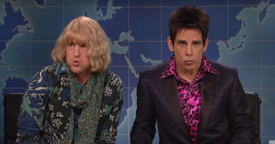 Zoolander And Hansel Are Clueless About Politics On 'Saturday Night Live'