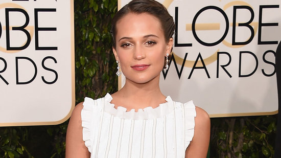 EXCLUSIVE: Alicia Vikander Says Boyfriend Michael Fassbender Doesn't Influence Her Red-Carpet Style: 'It's All Me'
