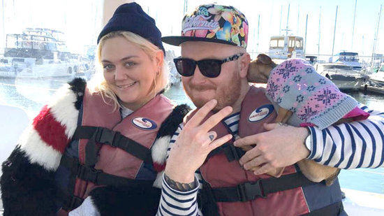 Elle King Got Engaged on a Sail Boat Under the Golden Gate Bridge