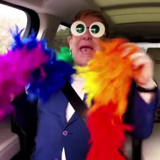 Elton John Pulls Out All the Stops For His Epic Carpool Karaoke Session