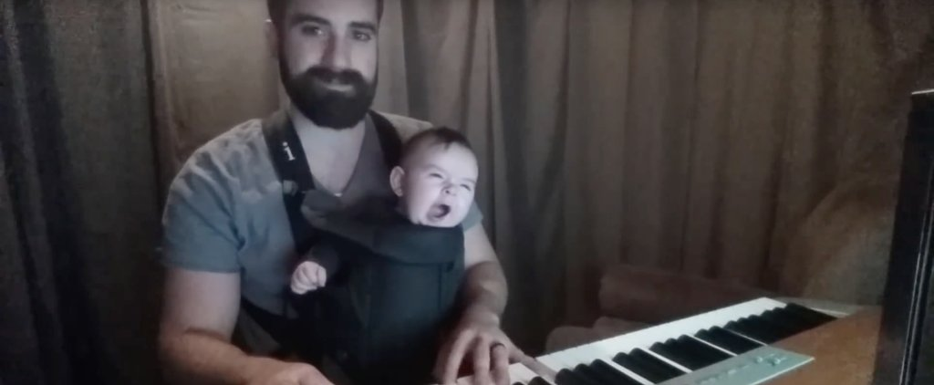 This Dad Found the Secret to Getting His Child Asleep in Seconds