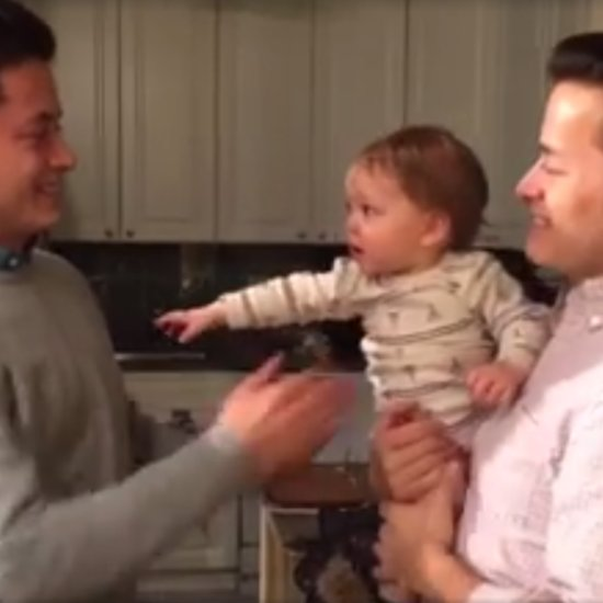 Baby Meets Dad's Twin Brother