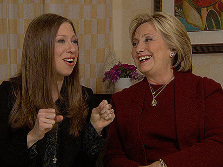 VIDEO: Hillary and Chelsea Clinton Share the Last Time They Couldn't Stop Laughing