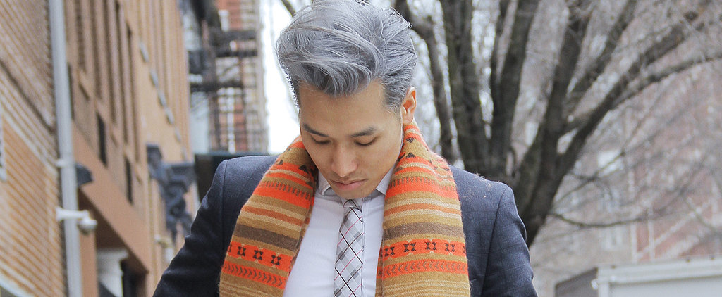 This Trend Will Make You Love Your Man's Gray Hair Even More