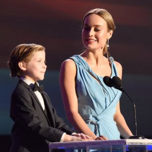 Brie Larson Quote About Jacob Tremblay