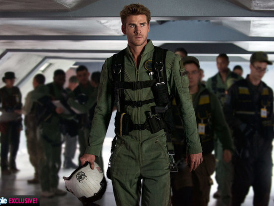 Hot Hero! Liam Hemsworth Shows Off His Independence Day: Resurgence Flight Suit - and Talks 'Heartfelt' Sequel