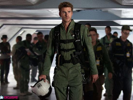 Hot Hero! Liam Hemsworth Shows Off His Independence Day: Resurgence Flight Suit - and Talks 'Heartfelt' Sequel