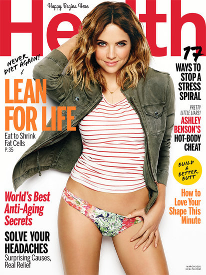 Ashley Benson: 'I Get Told All the Time to Lose Weight'