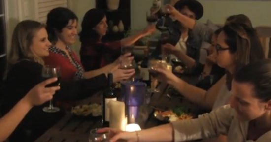 This Dinner Party Brings Together Those Who Are Grieving
