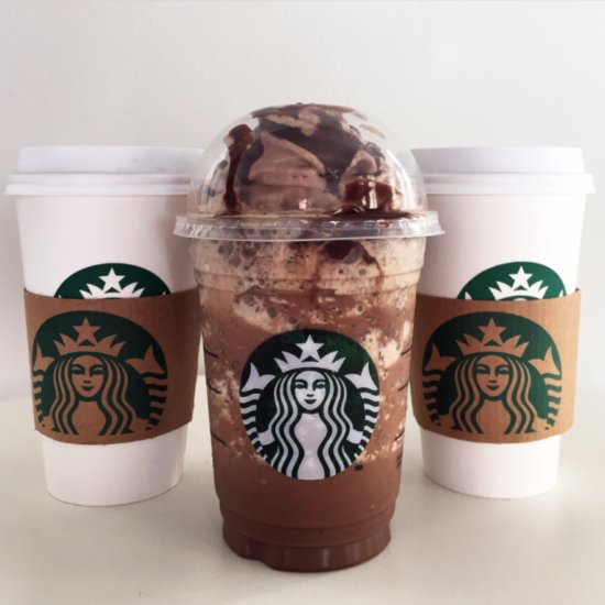 Starbucks Valentine's Day Drinks Review
