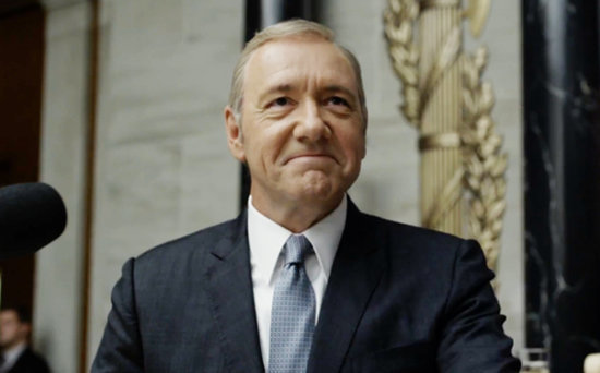 FROM EW: Frank Has to 'Fight for Everything' in Dark House of Cards Trailer
