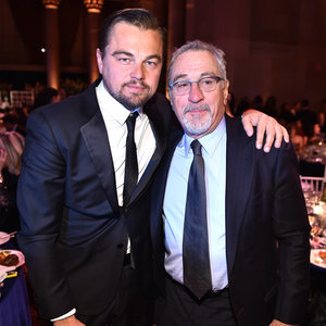 Leonardo DiCaprio and Robert De Niro at amfAR Gala 2016