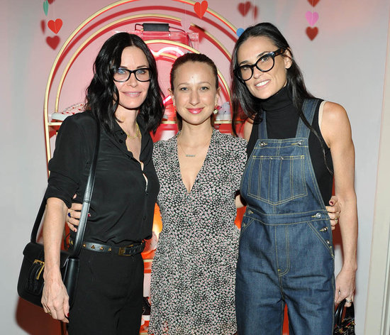 """More guesses on Liam Neeson's """"incredibly famous"""" secret girlfriend and Demi Moore at Jennifer Meyer collection launch"""