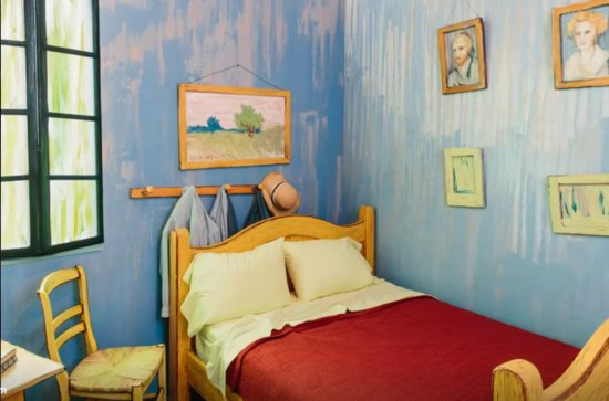 Art School Student Lists Van Gogh's Bedroom On Air BnB