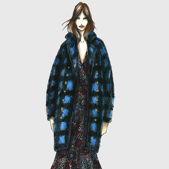 Designer Sketches From New York Fashion Week Autumn 2016