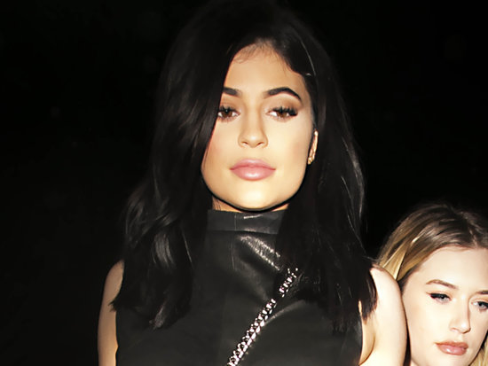 Kylie Jenner's Dress Is So Short We Can Almost See Her You Know What (PHOTO)