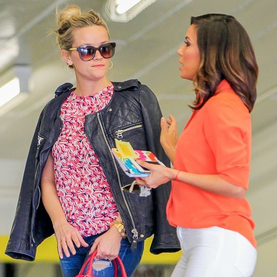 Reese Witherspoon and Eva Longoria in LA Pictures
