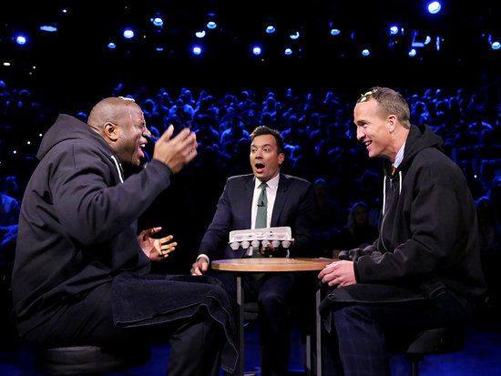Peyton Manning Goes One-on-One with Magic Johnson - Plus Will the Super Bowl Champ Be Playing for the L.A. Rams?