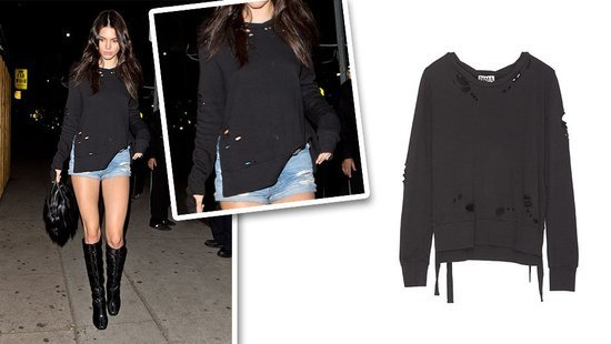 The Most Stylish Sweatshirt Around Is Obviously A Kendall Jenner Favorite