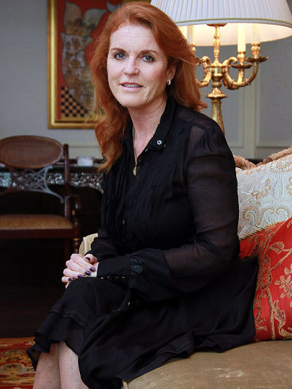 Fergie's Off to the Alps! Duchess Sarah Ferguson Applies for Swiss Residency