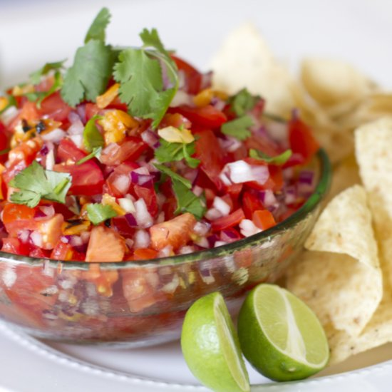 Bookmark This 10-Minute Salsa Fresca Recipe For Spring