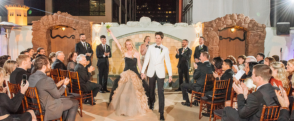 This Penthouse Wedding Is the Most Glamorous Thing You'll See Today