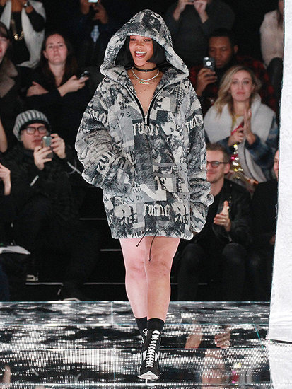 VIDEO: Rihanna Debuts Her Fenty x Puma Collaboration During NYFW