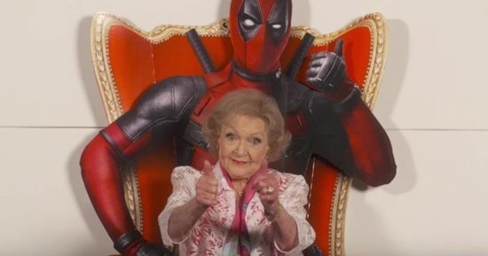 Betty White Drops F-Bombs In Glorious 'Deadpool' Review