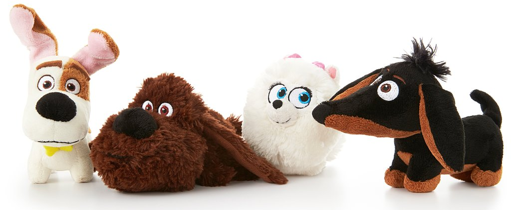 Get a Sneak Peek at The Secret Life of Pets-Themed Toys From PetSmart and Spin Master