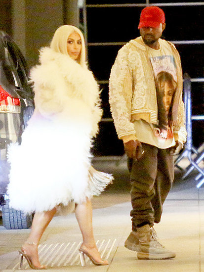 Kim and Kanye Step Out for Stylish Dinner Date After Yeezy Fashion Show