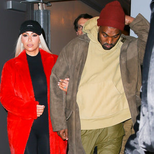 Kim Kardashian and Kanye West Out in NYC February 2016