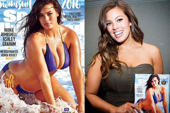 """Sports Illustrated"" Put A Plus-Size Model On The Cover For The First Time"