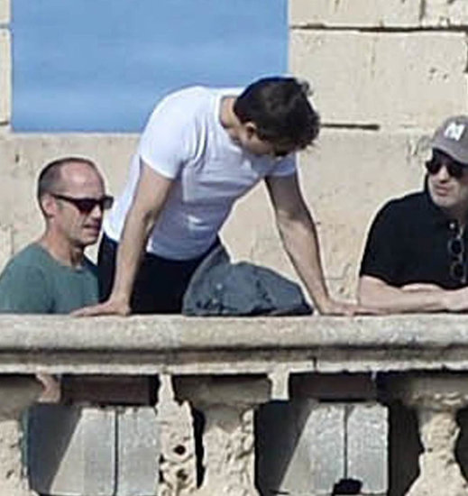 Tom Cruise scouting filming locations for The Mummy in Malta