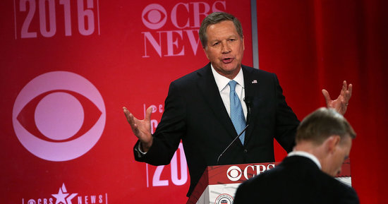 John Kasich Says U.S. Troops Should Destroy ISIS But Avoid Toppling Syria's Leader