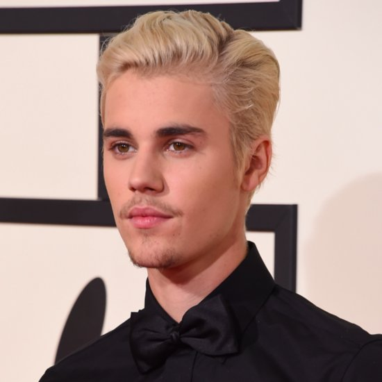 Justin Bieber Hair at the 2016 Grammy Awards