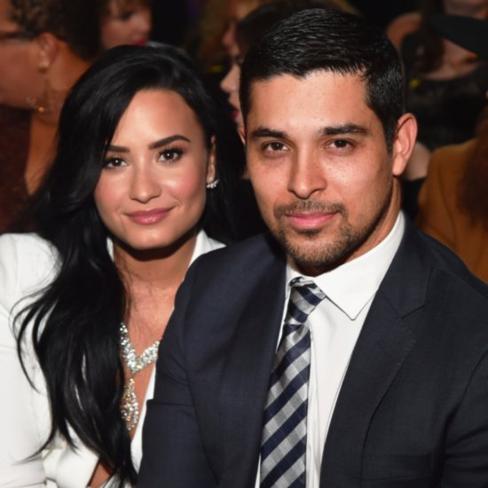 Wilmer Valderrama Cries at Demi Lovato's Grammys Performance