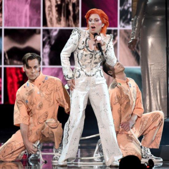 """Lady Gaga Performing David Bowie's """"Fashion""""   Video"""