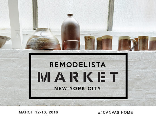 Save the Date: Remodelista Market in NYC, March 12-13